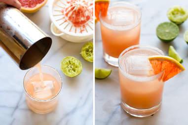 Fizzy Grapefruit Margarita