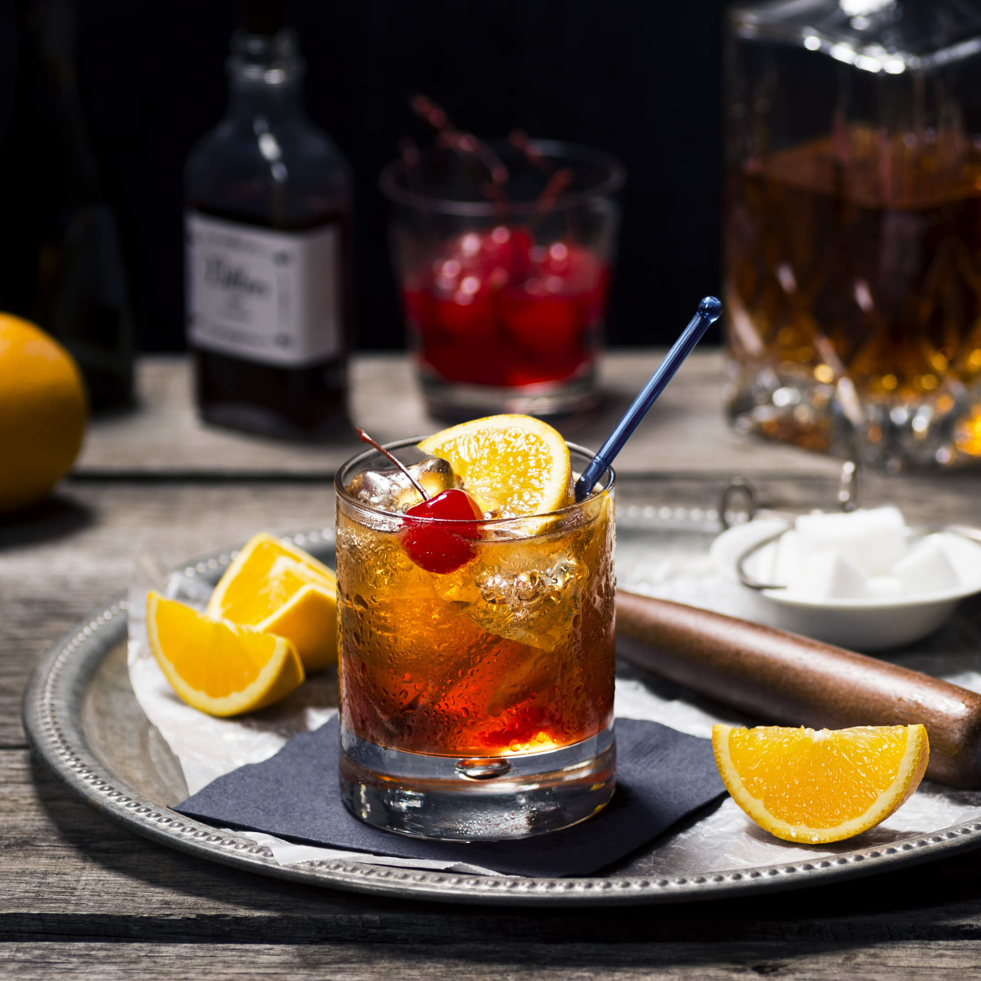 Entertainment Areas More Relaxed But Stylish And Luxe: How To Make And Where To Get A Brandy Old Fashioned