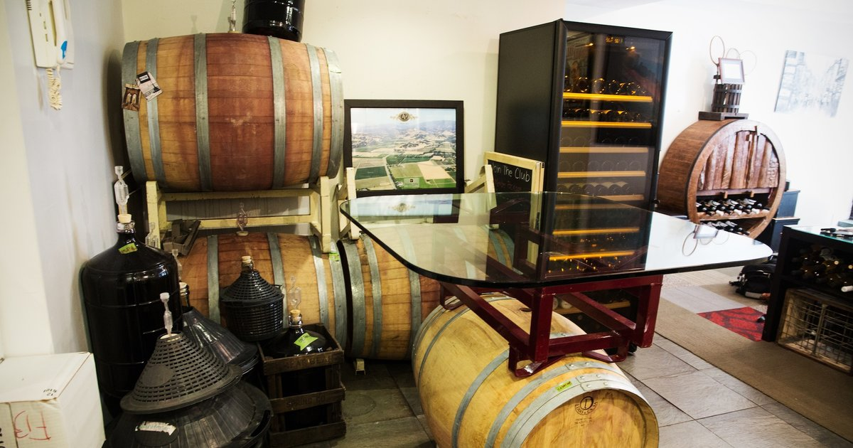 This Guy Put an Entire Winery in His 550-Square-Foot NYC Apartment