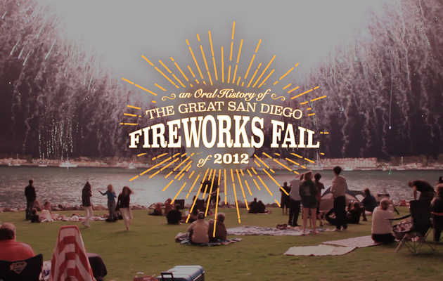 An Oral History of the Great San Diego Fireworks Fail of 2012