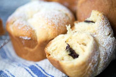 Chocolate Cruffins — Thrillist Recipes