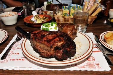 Big ol' slab of steak