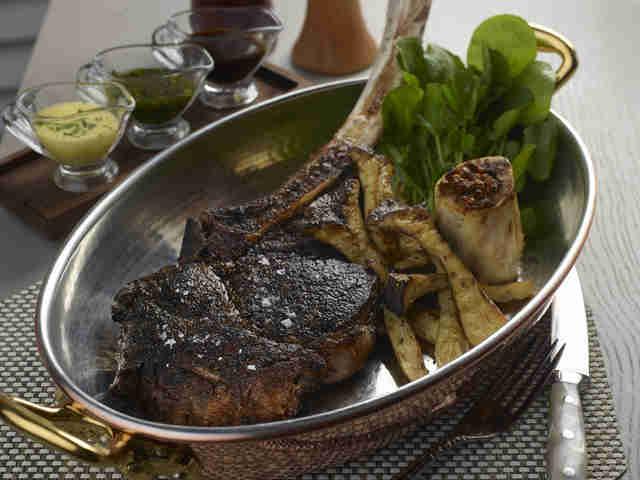 Andiron Steak Sea Dinner