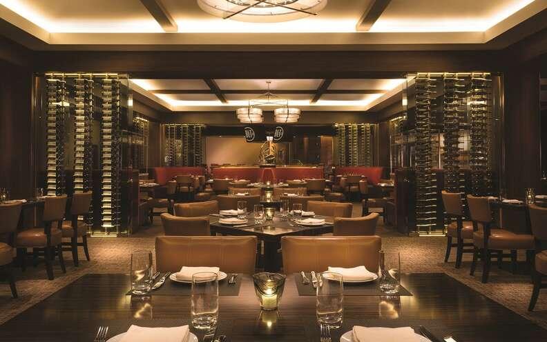 BLT Steak interior, BLT Steak Las Vegas