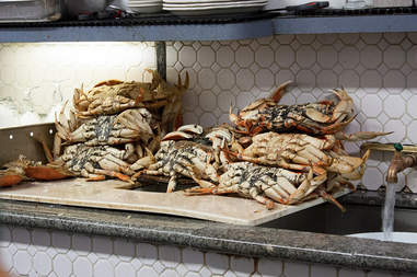 Crabs from Swan Oyster Depot