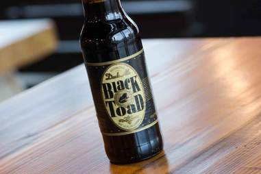 Trader Joe's Black Toad beer