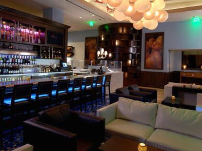 interior morels steakhouse bistro couch las vegas