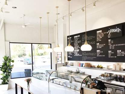 Artisanal ice cream at Jeni's in Los Feliz