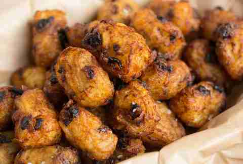tater tots made with beef jerky   thrillist recipes