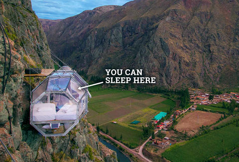 Extreme Hotel Rooms Skylodge Adventure Suites In Peru S