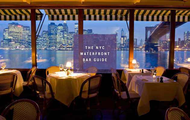 The Best Waterfront Bars in NYC