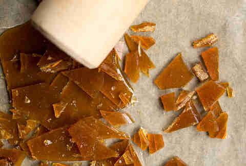 Maple Candy Shards for McGriddle -- Thrillist Recipes