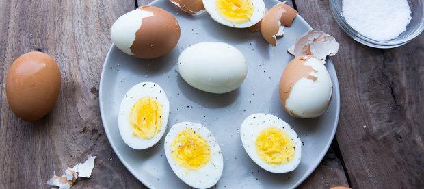 Cooking and Peeling Hard-Boiled Eggs Doesn't Have to Be So... Hard
