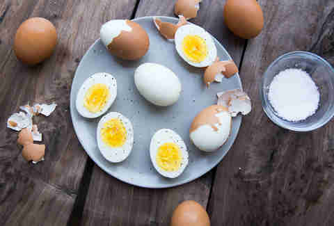 Hard Boiled Eggs -- Thrillist Recipes