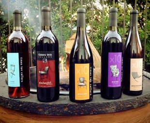 bottles of wine at Times Ten Cellars