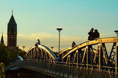 Freiburg, Germany, bridge