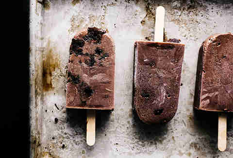 Fudgesicle Popsicles