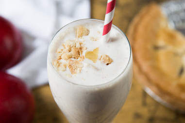 Hard Apple Cider Milkshake -- Thrillist Recipes