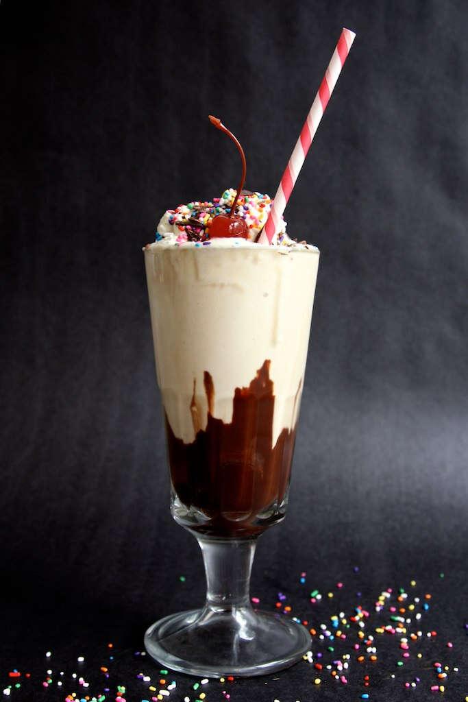 Happy Hour Hot Fudge Milkshake