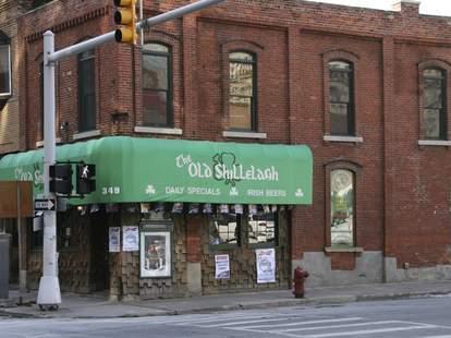 exterior of old shillelagh's detroit