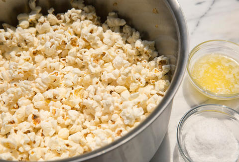 Stovetop popcorn -- Thrillist Recipes