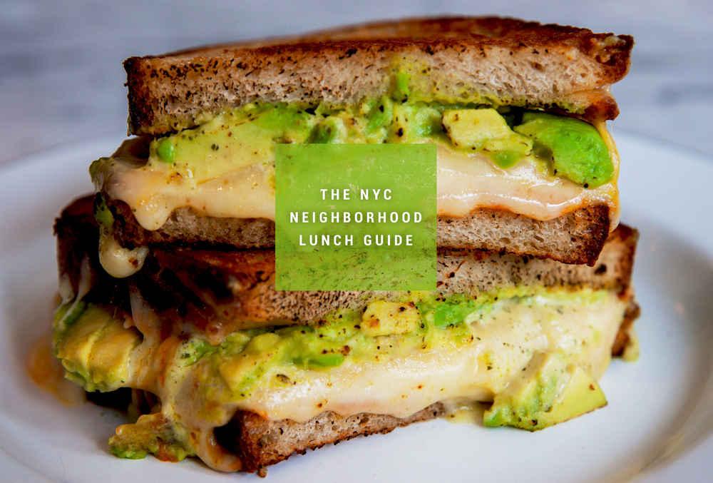The Best NYC Lunch Spot in 30 Manhattan Neighborhoods Thrillist