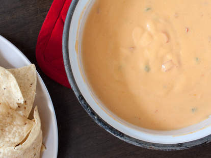 Queso Cheese Dip -- Thrillist Recipes