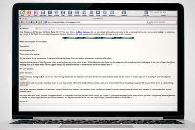X-Files fanfic screenshot