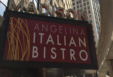 Angelina Italian Bistro, Downtown Detroit bars
