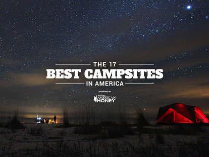 The best campsites in America