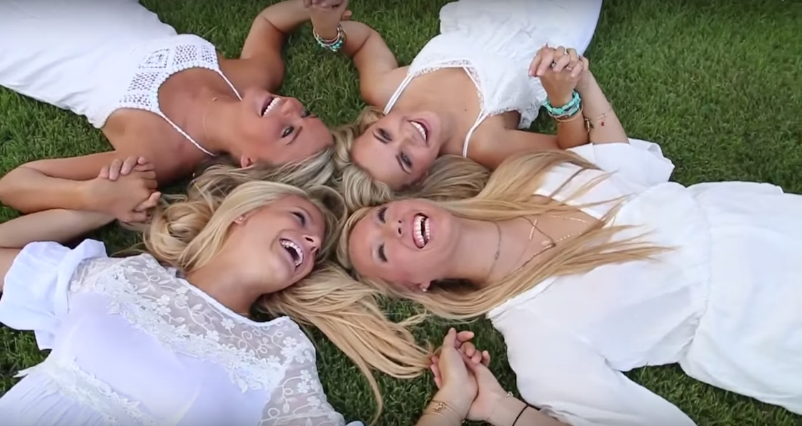 An Alabama sorority deleted their recruitment video after