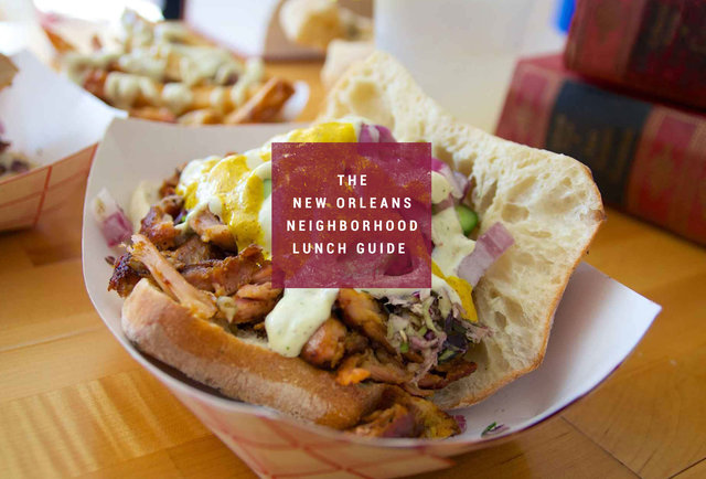 Best Lunches In New Orleans Best New Orleans Sandwiches