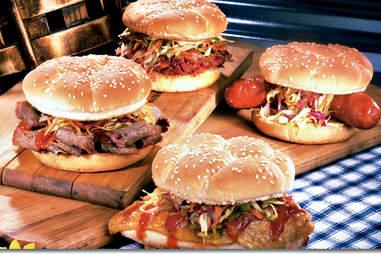 Memphis Championship Barbecue, barbecue sandwiches