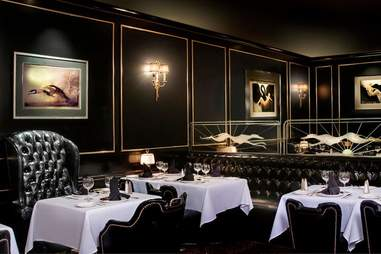 dining room at The Prime Rib