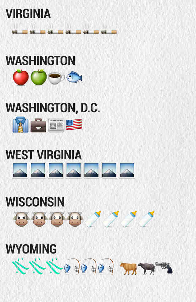 The Emojis for the 50 States - Thrillist 23cac292572