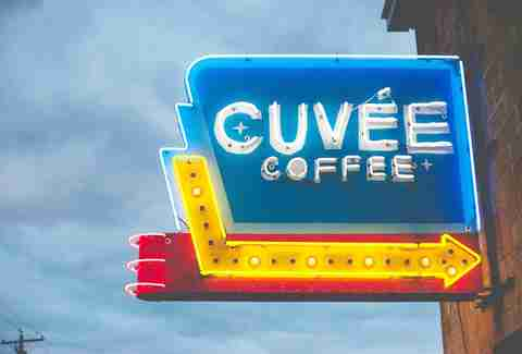 Cuvee Coffee Bar in Austin