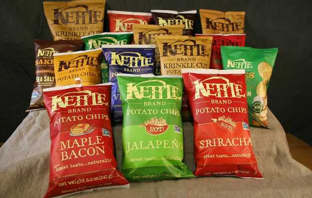 10 Things You Didn't Know About Kettle Chips