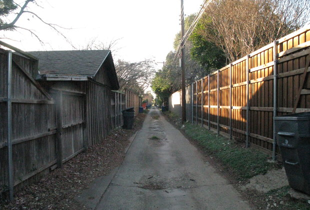 What I Miss Most: Dallas Down the Alley
