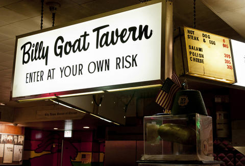 Billy Goat Tavern Chicago