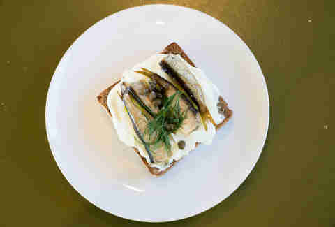 vif wine bar seattle sardine toast