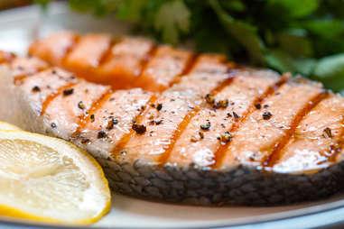 Salmon steak -- Thrillist Recipes
