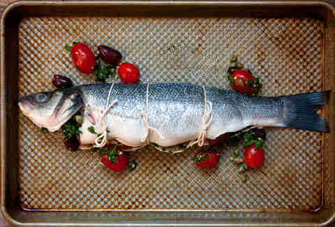 Branzino -- Thrillist Recipes