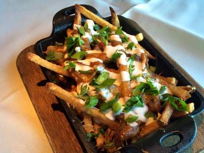 Germantown Cafe, poutine, french fries