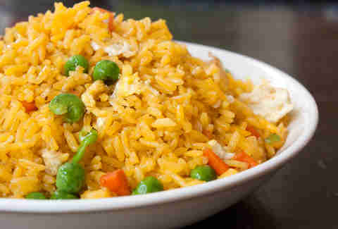 Quick fried rice -- Thrillist Recipes
