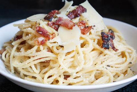 Pasta Carbonara -- Thrillist Recipes