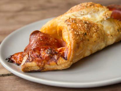 Croissant Pizza -- Thrillist Recipes