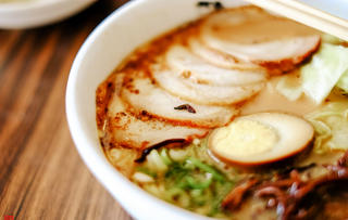 Golden Pork Tonkotsu Ramen Bar