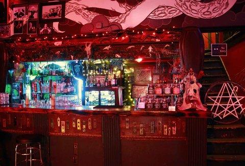 Hasil gambar untuk restaurant The Lovecraft Bar