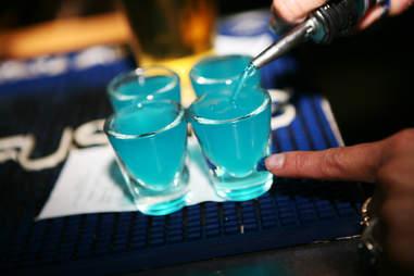 Blue Line shots