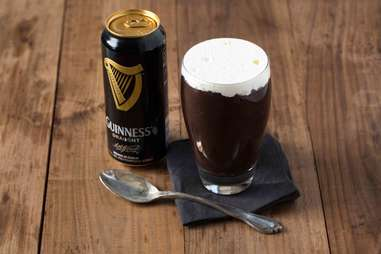 Chocolate Guinness pudding